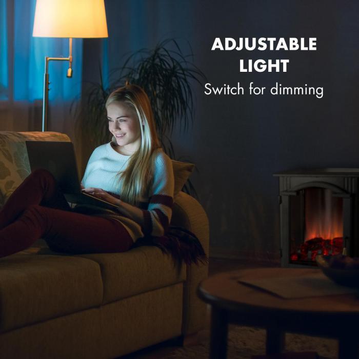 Klarstein Graz regulovatelné světlo