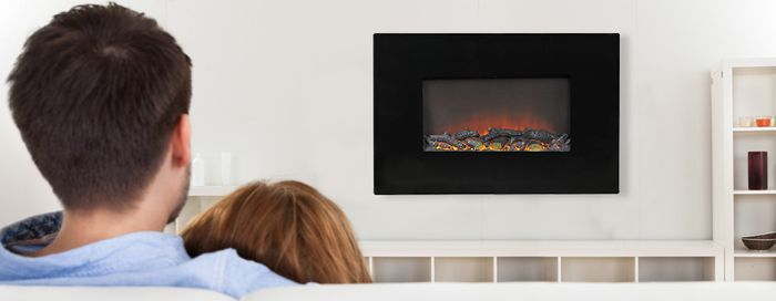 Nástěnný elektrický krb G21 Fire Classic slouží i jako dekorace