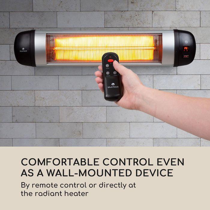 Dálkové ovládání infrazářiče Blumfeldt Rising Sun Zenith