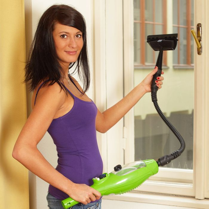 Čištění oken s parním čističem Maxxx 5v1