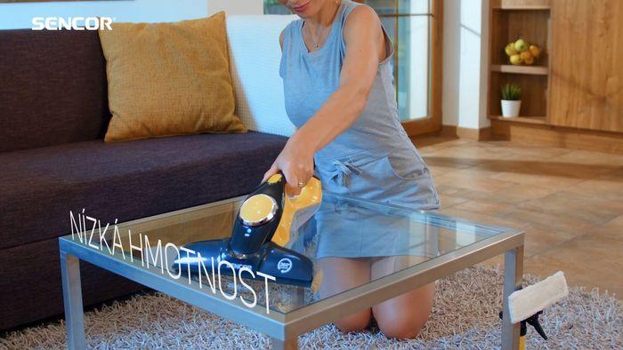 Sencor SCW 3001YL čištění skla