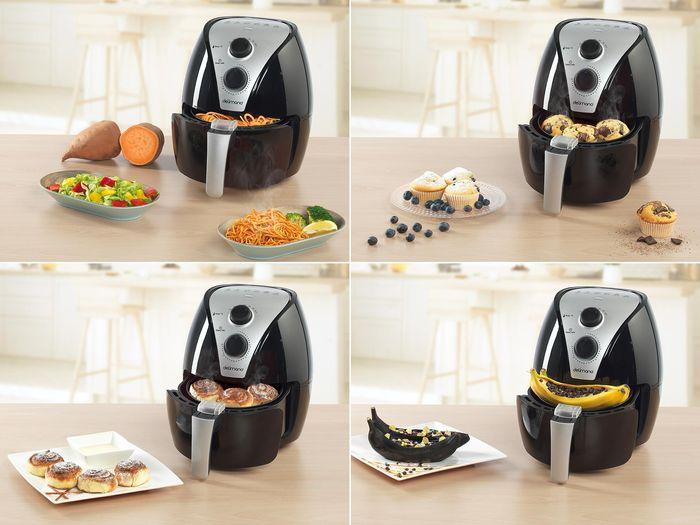 Delimano Air Fryer příprava pokrmů