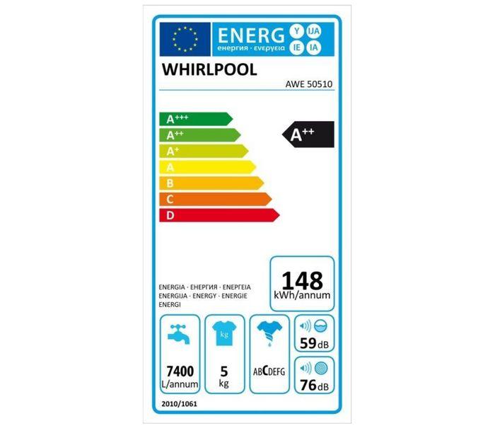 Whirlpool AWE 50510 energetický štítek