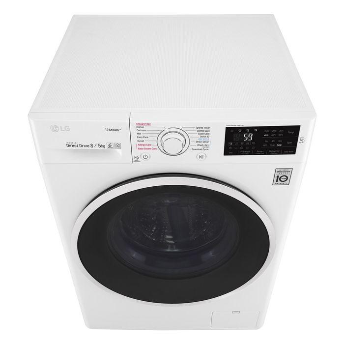 Pračka se sušičkou LG F84J6TG0W recenze
