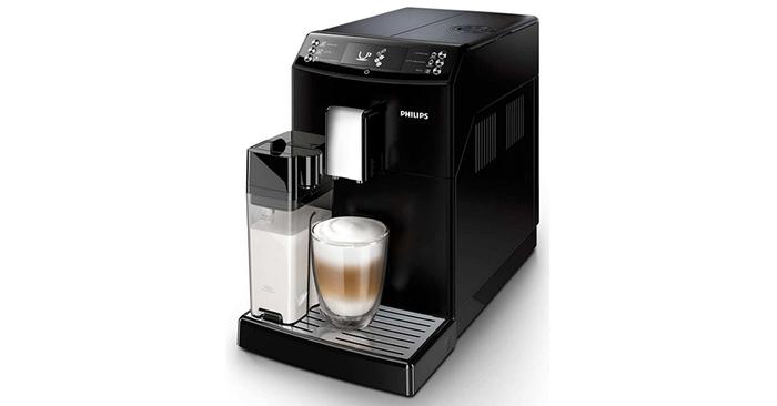 Automatický kávovar Philips EP 3550/00 disponuje tryskou na mléko