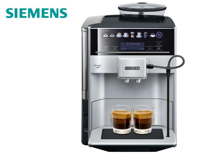 Automatický kávovar Siemens TE651209RW recenze