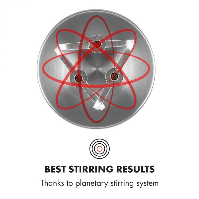 Klarstein Curve Plus planetární systém míchání
