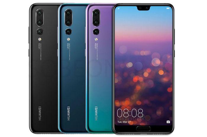 Fotomobil Huawei P20 Pro 6GB/128GB Dual SIM v různých barevných provedeních