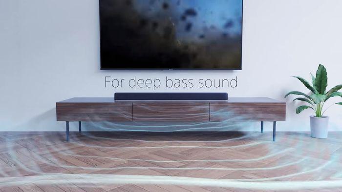 Sony HT-X8500 šíření zvuku