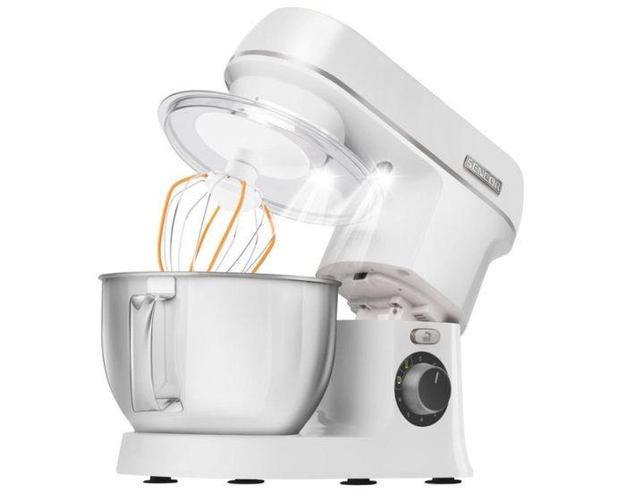 Kuchyňský robot Sencor STM 3750WH s LED osvětlením