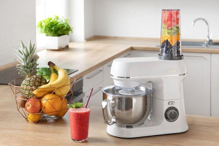 Kuchyňský robot Sencor STM 3750WH se smoothie mixérem