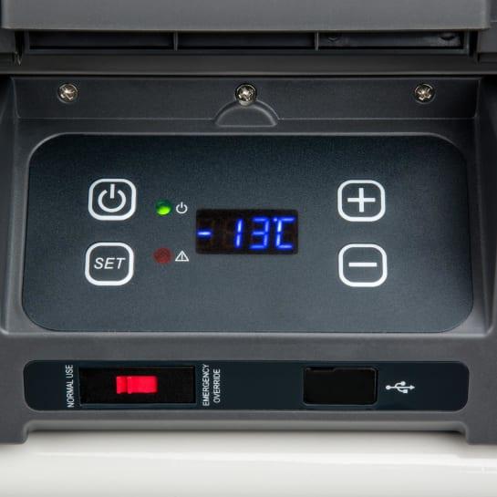 Ovládání autochladničky Klarstein Survivor 35
