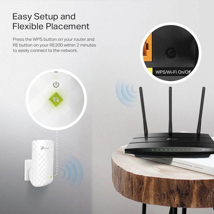 WiFi extender TP-Link RE200 recenze