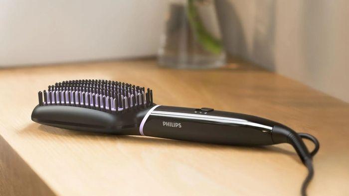 Žehlicí kartáč Philips StyleCare Essential BHH880/00 s turmalínovým povrchem
