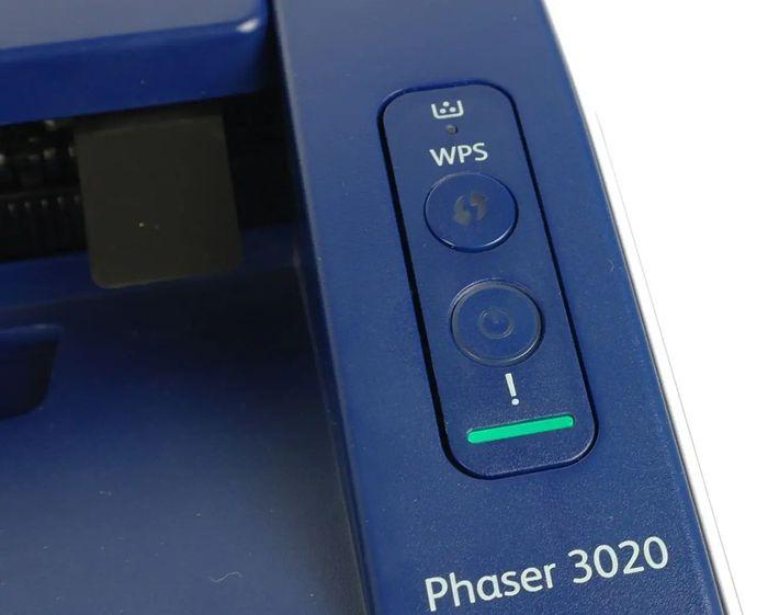Xerox Phaser 3020Bi ovládání