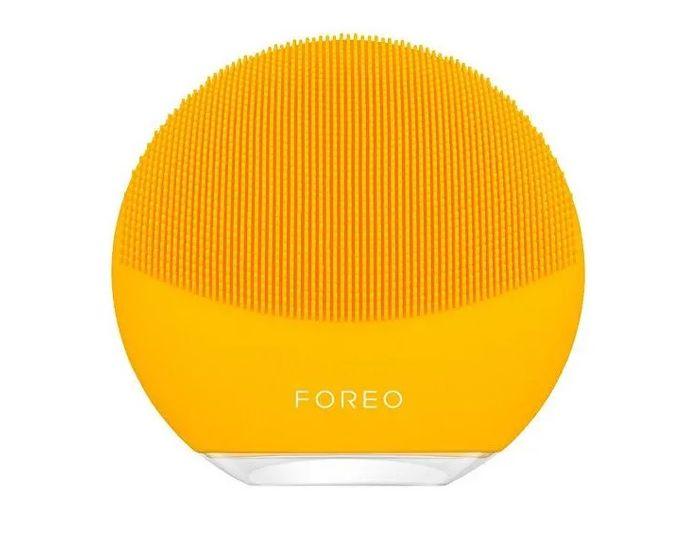 Žlutý čistící kartáček na pleť Foreo Luna mini 3