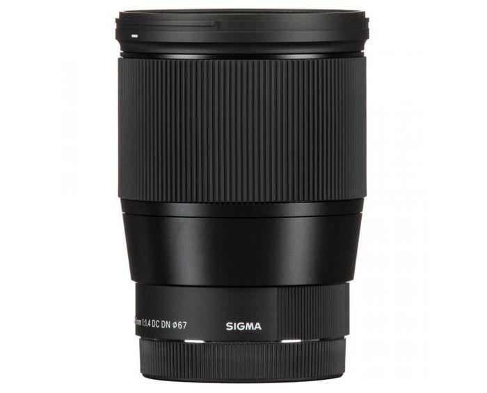 Objektiv na zrcadlovku Sigma 16mm f/1.4 DC DN Contemporary