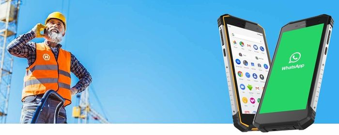 Outdoorový telefon myPhone Hammer Energy 2