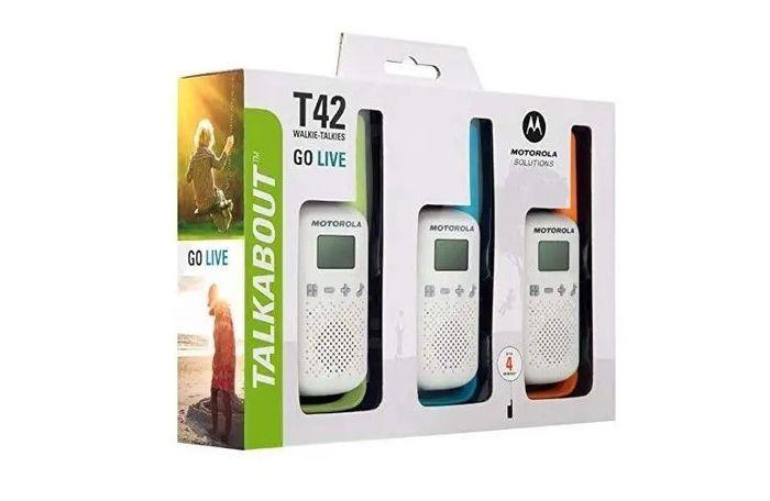 Motorola TLKR T42 trojbalení