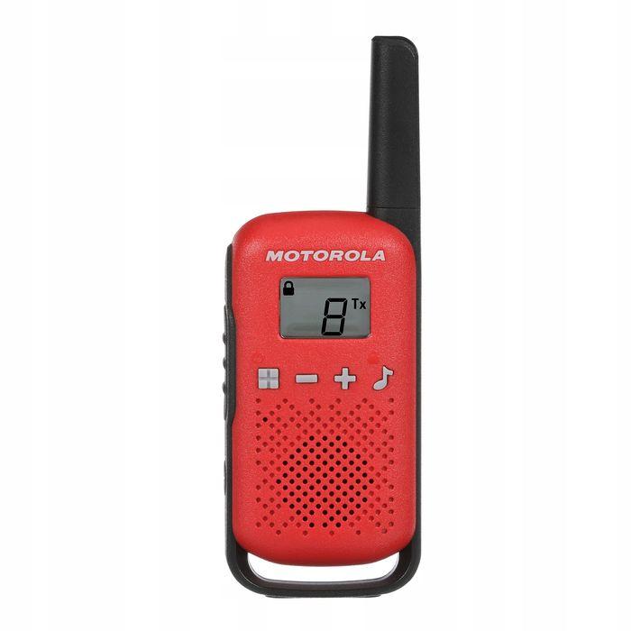 Motorola TLKR T42 v červené barvě