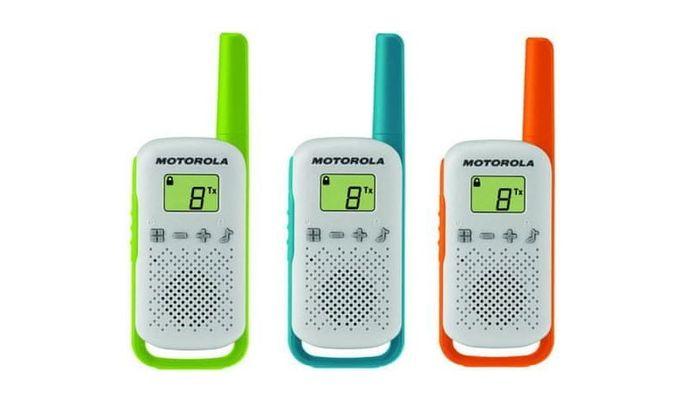 Vysílačky Motorola TLKR T42 recenze
