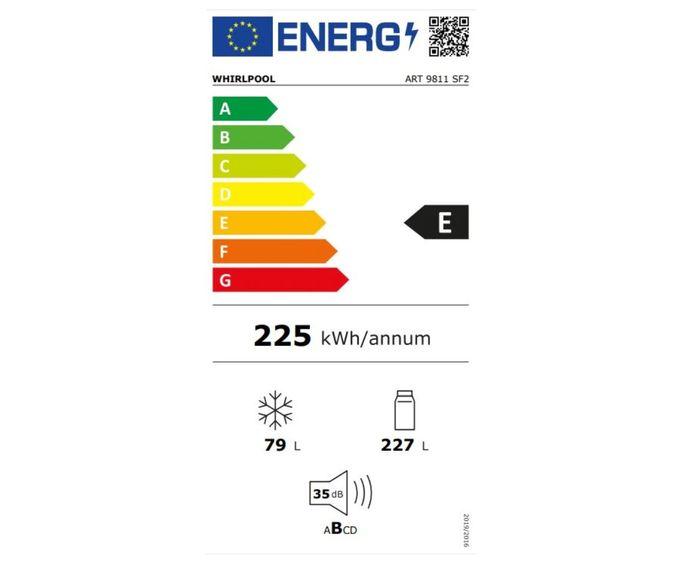 Whirlpool ART9811SF2 energetický štítek