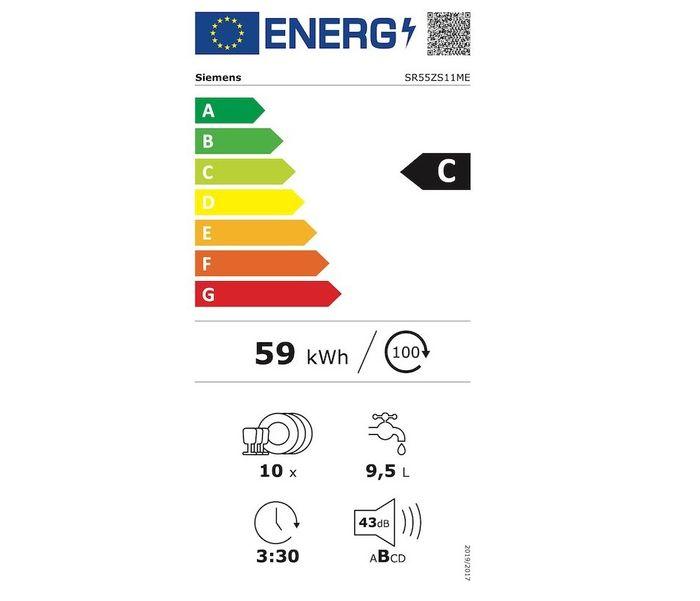Siemens SR55ZS11ME energetický štítek