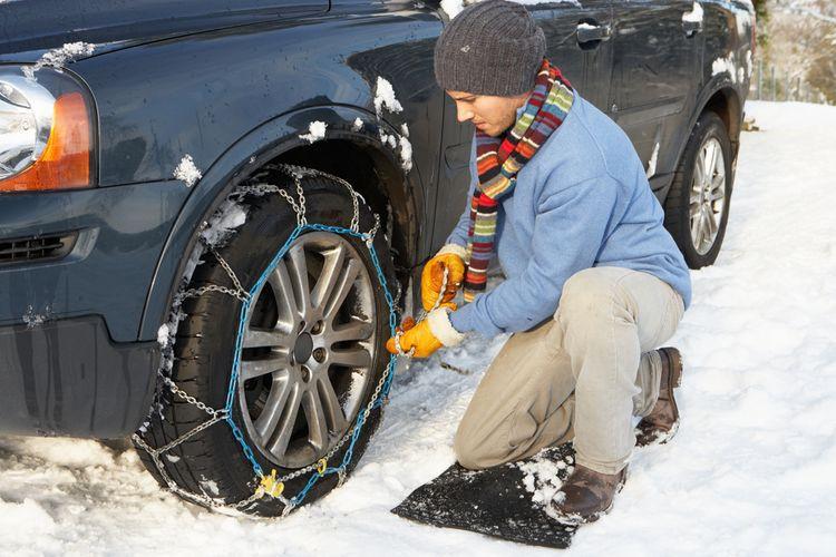 Jak sněhové řetězy nasadit?