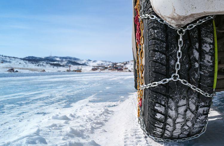 Sněhové řetězy na osobní auto