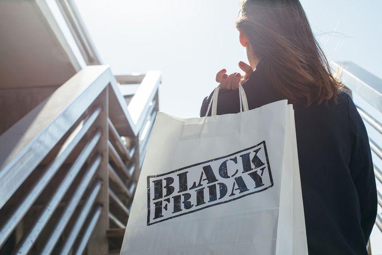 Nakupování během Black Friday 2019