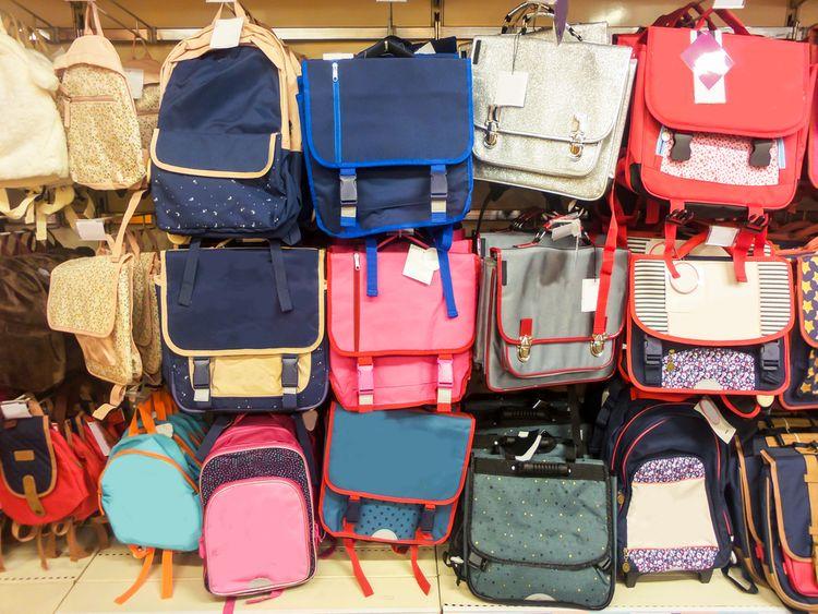 Školní aktovky a batohy