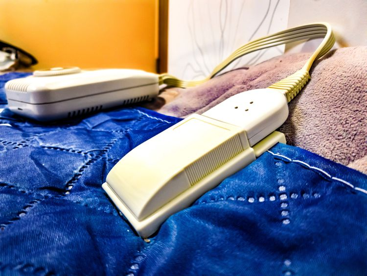 Ovládání elektronické deky