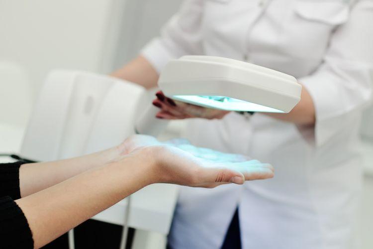 Léčba pomocí biolampy
