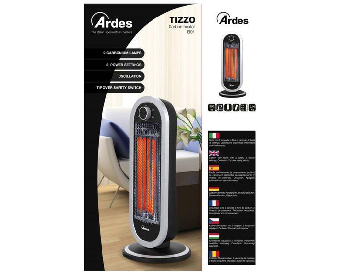 Infrazářič Ardes 4B01 balení