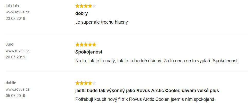 Zkušenosti s ochlazovačem vzduchu Rovus Artic Air Ultra