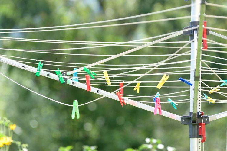 Otočný sušák na prádlo do zahrady