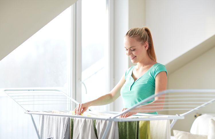 Stojanový sušák na prádlo