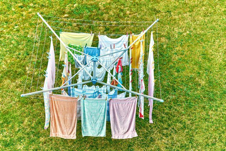 Sušák na prádlo do zahrady