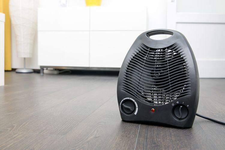 Topné těleso teplovzdušného ventilátoru