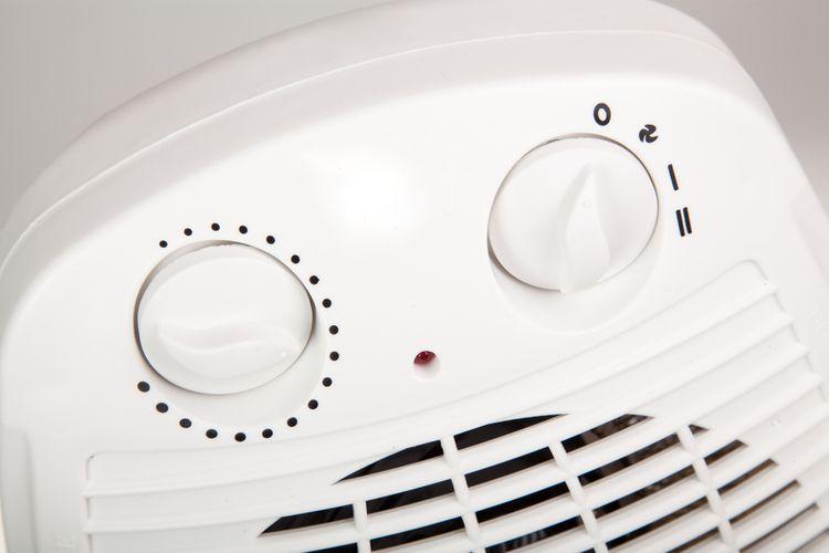 Ovládání teplovzdušného ventilátoru