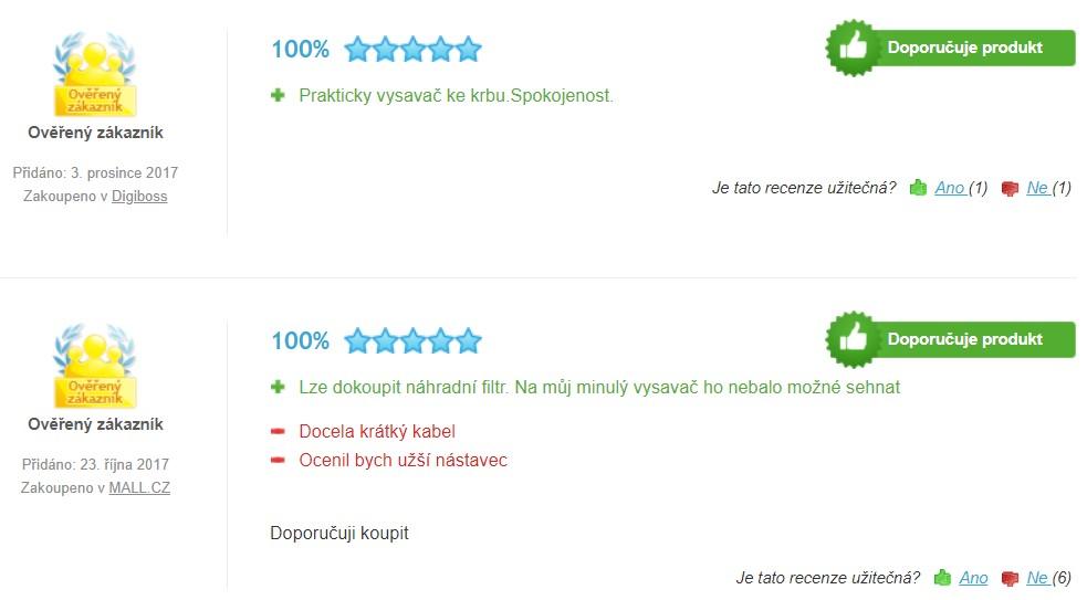 Recenze a zkušenosti s vysavačem Gardetech VAC1000