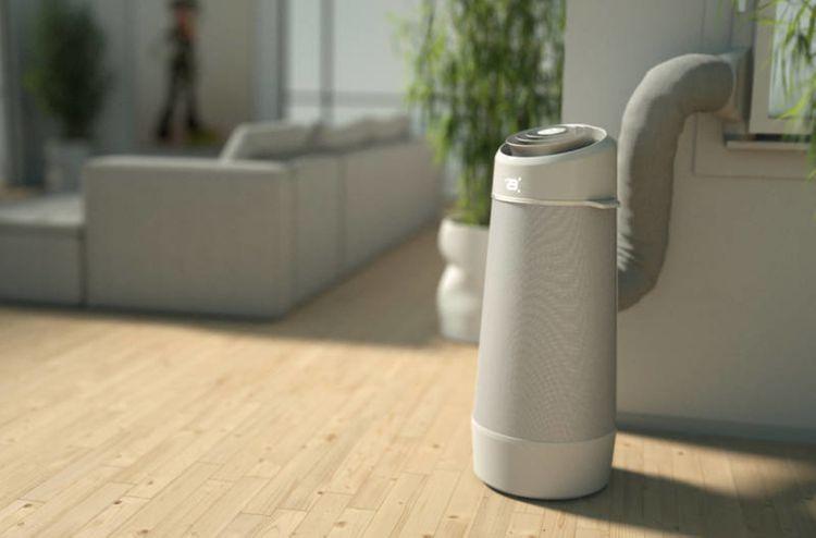 Vývod vzduchu mobilní klimatizace