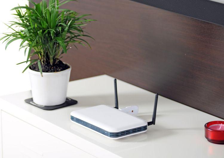 WiFi router s externími anténami