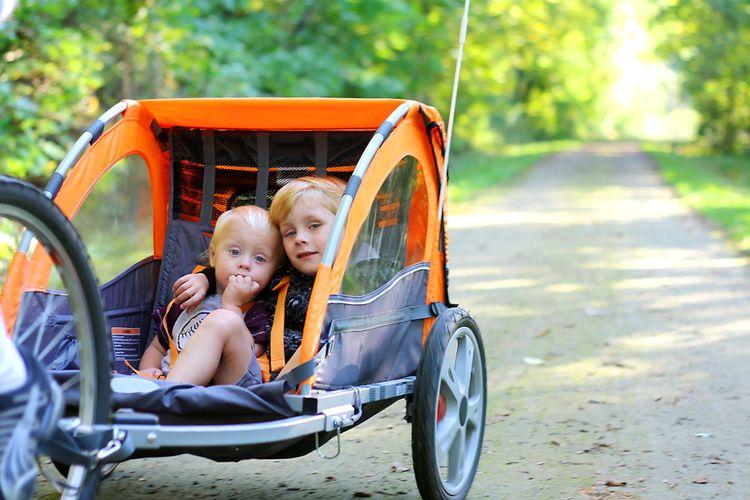 Cyklovozík je vhodný pro děti do 5-6 let
