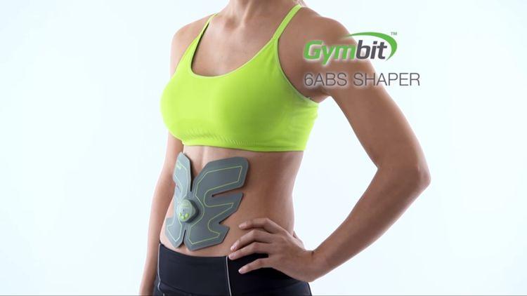 Posilovač břišního svalstva Gymbit 6 Abs Shaper