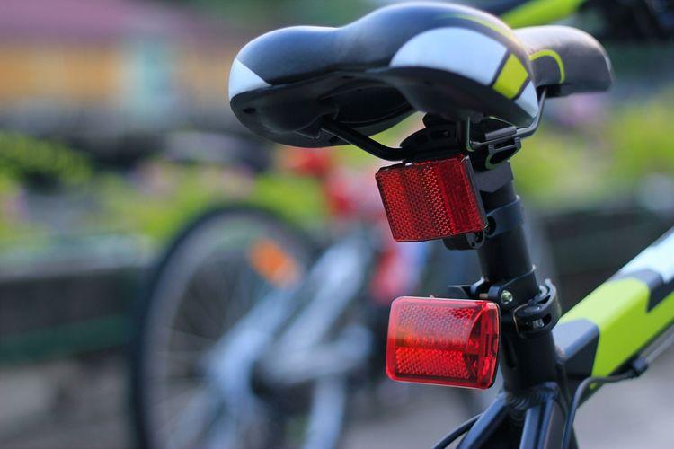 Zadní světlo na jízdní kolo