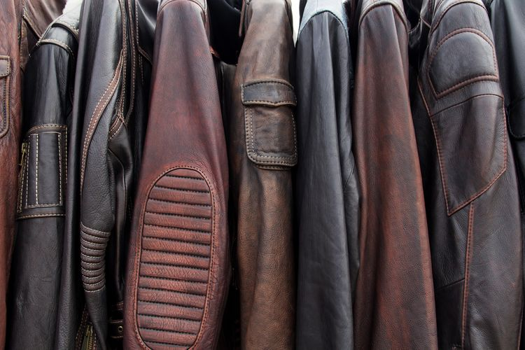 Moto kožené bundy
