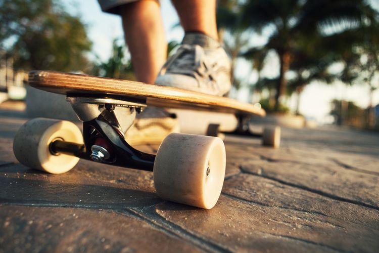 Longboard na cesty