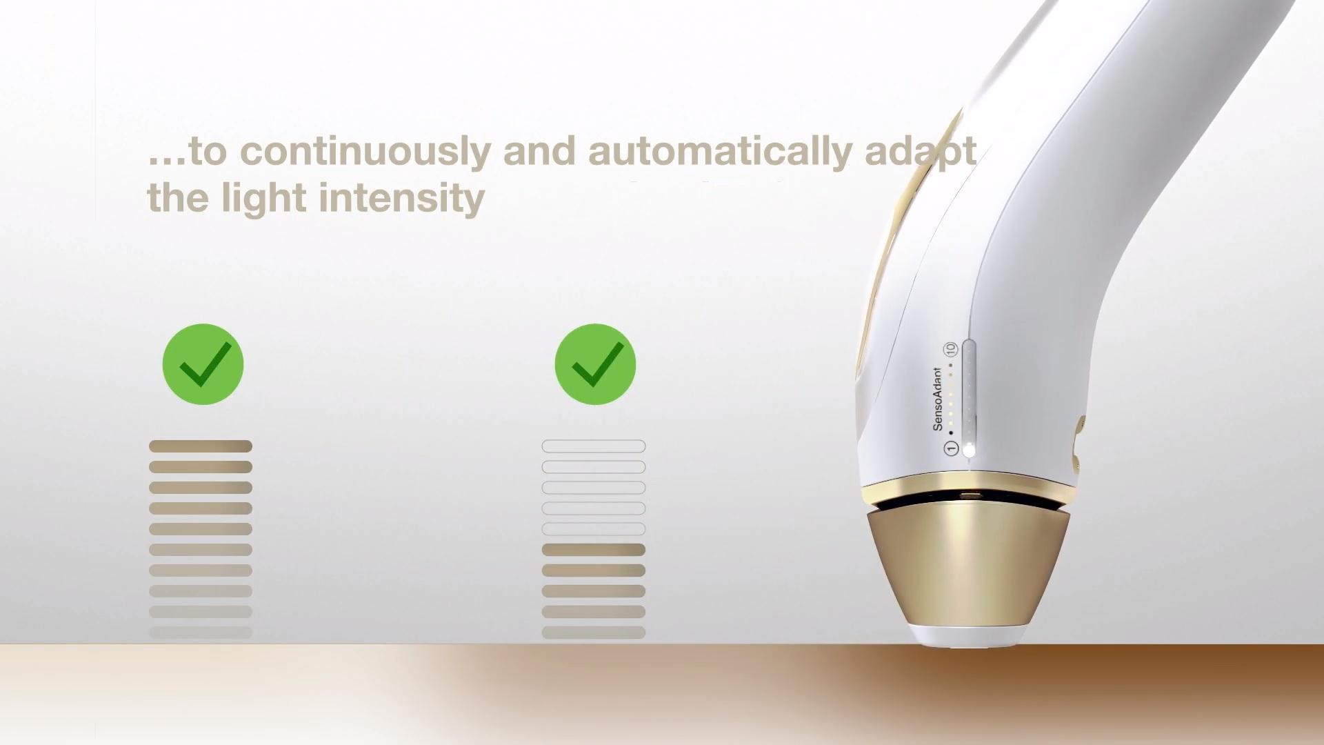 Braun Silk-expert Pro 5 PL5014 IPL senzor SensoAdapt