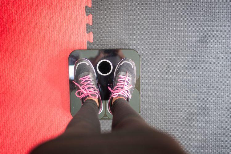 Diagnostická váha měří složení těla